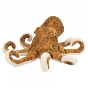 Wild Republic Brauner Octopus